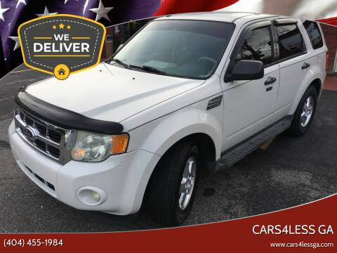 2011 Ford Escape for sale at Cars4Less GA in Alpharetta GA