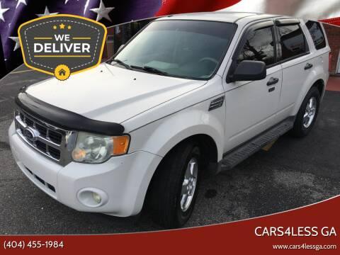 2011 Ford Escape for sale at Cars4Less GA in Alpharetta GA