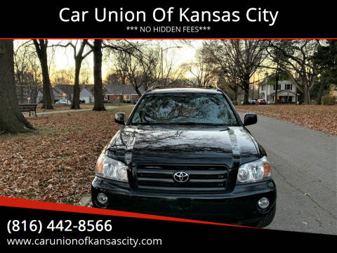 2007 Toyota Highlander for sale at Car Union Of Kansas City in Kansas City MO