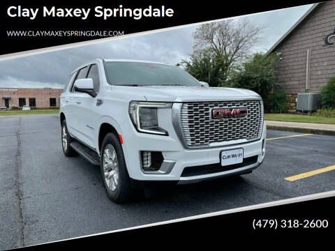2021 GMC Yukon for sale at Clay Maxey Springdale in Springdale AR