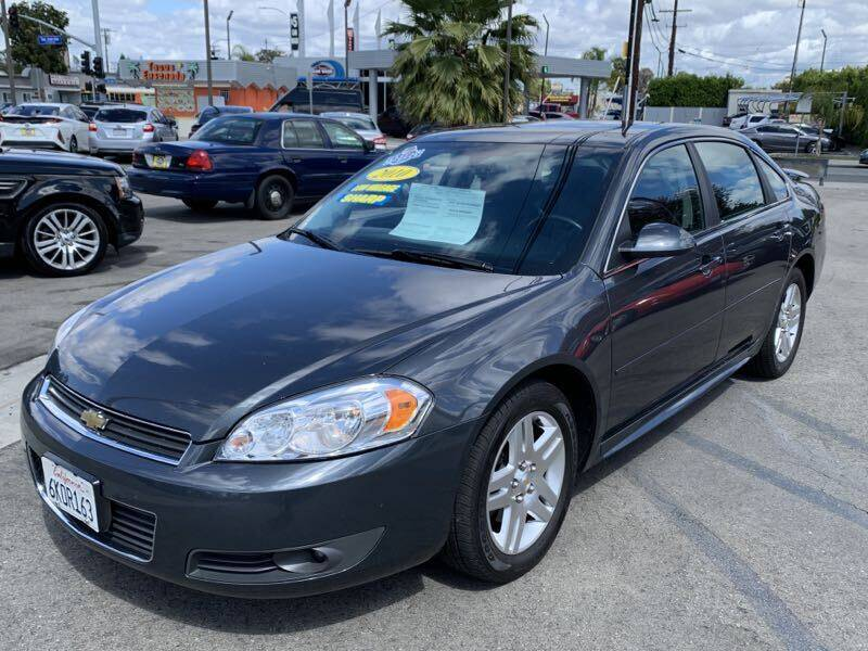 2010 Chevrolet Impala for sale at Best Car Sales in South Gate CA