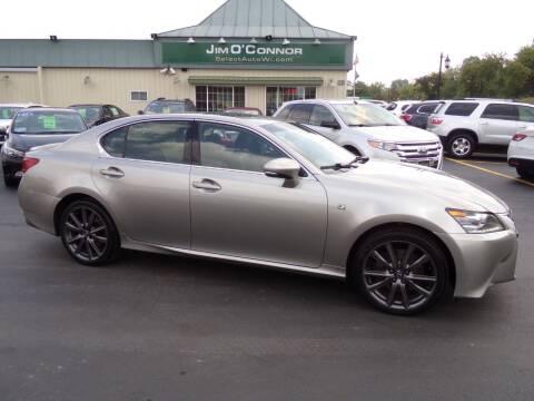 2015 Lexus GS 350 for sale at Jim O'Connor Select Auto in Oconomowoc WI