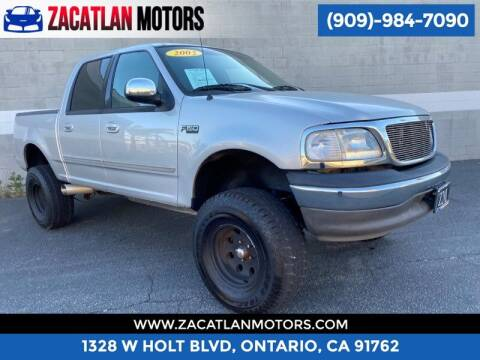 2002 Ford F-150 for sale at Ontario Auto Square in Ontario CA