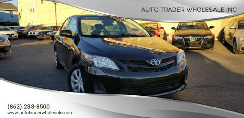 2011 Toyota Corolla for sale at Auto Trader Wholesale Inc in Saddle Brook NJ
