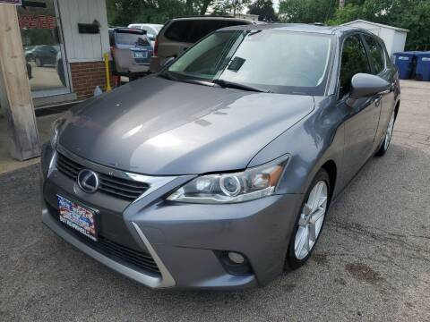 2014 Lexus CT 200h for sale at New Wheels in Glendale Heights IL