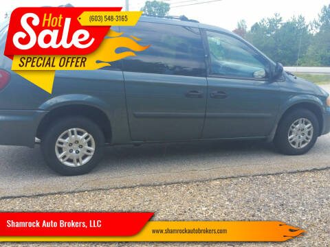 2005 Dodge Grand Caravan for sale at Shamrock Auto Brokers, LLC in Belmont NH