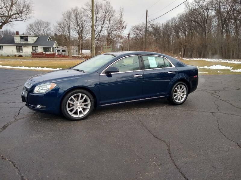 2010 Chevrolet Malibu for sale at Depue Auto Sales Inc in Paw Paw MI