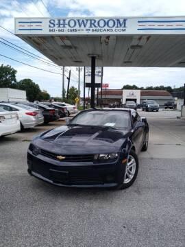 2015 Chevrolet Camaro for sale at Showroom Auto Sales of Charleston in Charleston SC