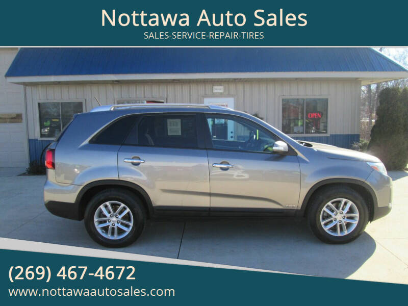 2015 Kia Sorento for sale at Nottawa Auto Sales in Nottawa MI