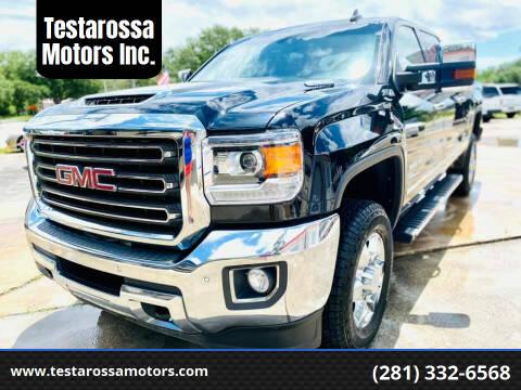 2019 GMC Sierra 2500HD for sale at Testarossa Motors Inc. in League City TX