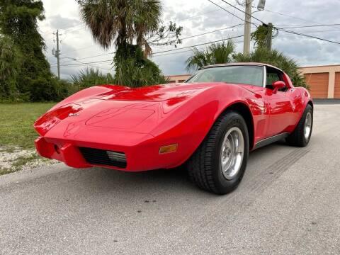 1979 Chevrolet Corvette for sale at American Classics Autotrader LLC in Pompano Beach FL