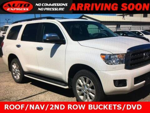 2017 Toyota Sequoia for sale at Auto Express in Lafayette IN
