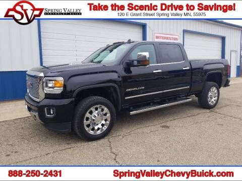 2016 GMC Sierra 2500HD for sale at Spring Valley Chevrolet Buick in Spring Valley MN