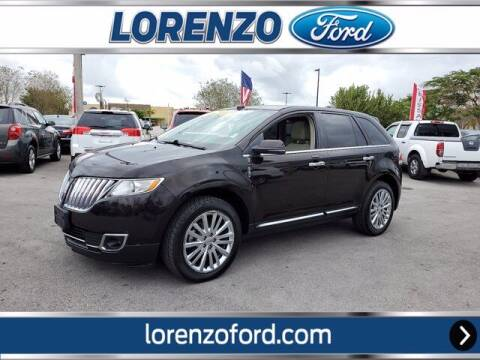 2013 Lincoln MKX for sale at Lorenzo Ford in Homestead FL