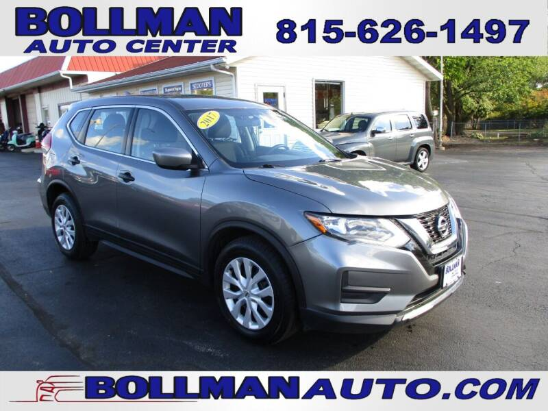 2017 Nissan Rogue for sale at Bollman Auto Center in Rock Falls IL