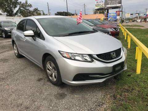 2015 Honda Civic for sale at Palmer Auto Sales in Rosenberg TX