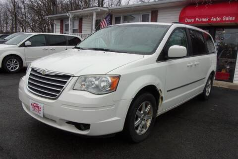 2010 Chrysler Town and Country for sale at Dave Franek Automotive in Wantage NJ