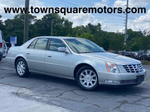2008 Cadillac DTS for sale at Town Square Motors in Lawrenceville GA