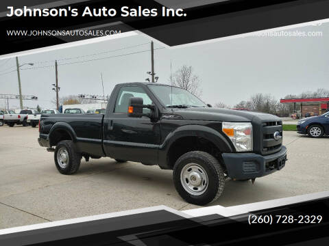 2014 Ford F-250 Super Duty for sale at Johnson's Auto Sales Inc. in Decatur IN