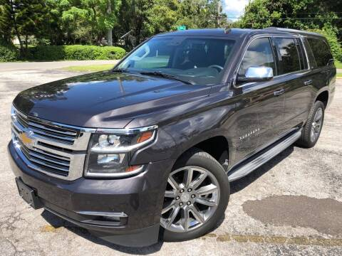 2015 Chevrolet Suburban for sale at LUXURY AUTO MALL in Tampa FL
