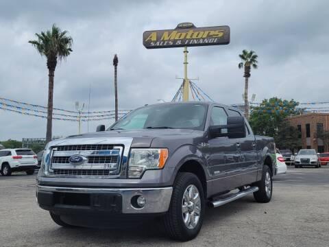 2013 Ford F-150 for sale at A MOTORS SALES AND FINANCE - 10110 West Loop 1604 N in San Antonio TX