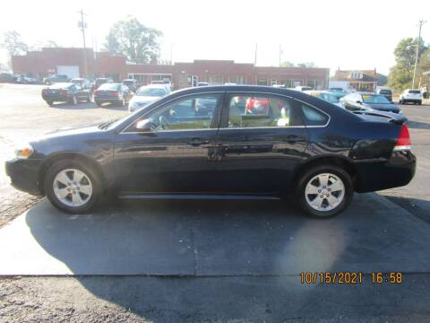 2010 Chevrolet Impala for sale at Taylorsville Auto Mart in Taylorsville NC