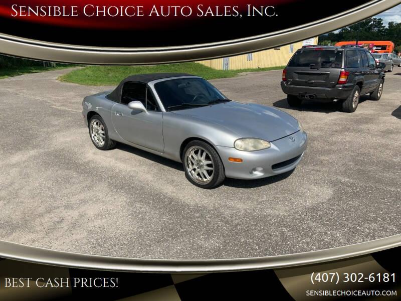 2001 Mazda MX-5 Miata for sale at Sensible Choice Auto Sales, Inc. in Longwood FL