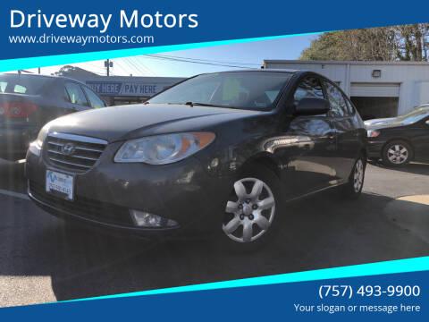 2008 Hyundai Elantra for sale at Driveway Motors in Virginia Beach VA