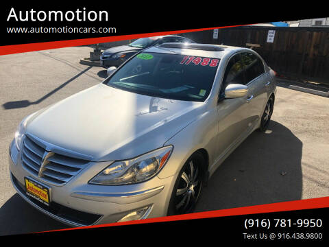 2012 Hyundai Genesis for sale at Automotion in Roseville CA
