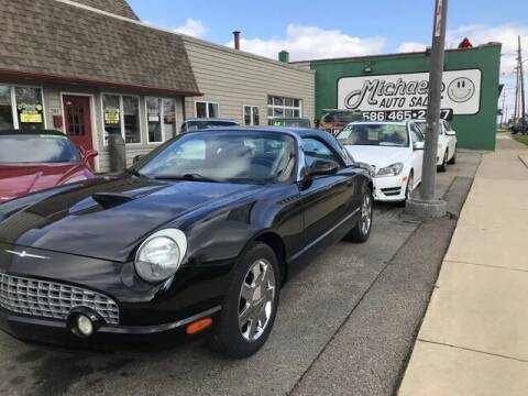 2002 Ford Thunderbird for sale at MICHAEL'S AUTO SALES in Mount Clemens MI