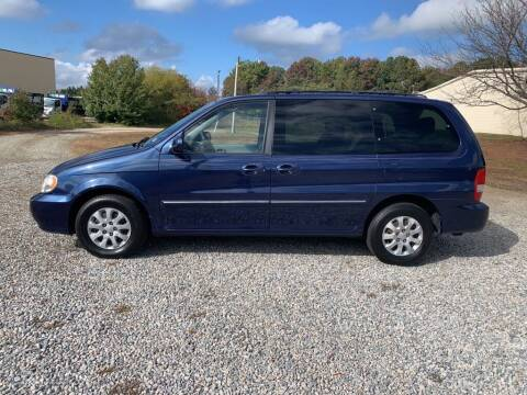2005 Kia Sedona for sale at MEEK MOTORS in North Chesterfield VA