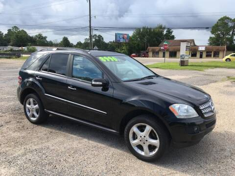 2008 Mercedes-Benz M-Class for sale at Autofinders in Gulfport MS