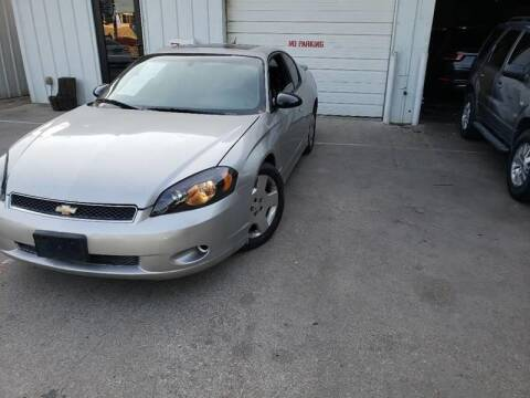 2006 Chevrolet Monte Carlo for sale at Bad Credit Call Fadi in Dallas TX
