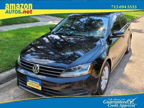 2017 Volkswagen Jetta for sale at Amazon Autos in Houston TX