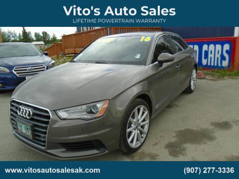 2016 Audi A3 for sale at Vito's Auto Sales in Anchorage AK