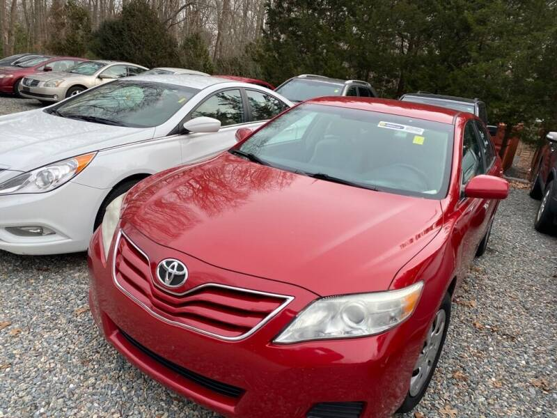 2010 Toyota Camry for sale at Anawan Auto in Rehoboth MA