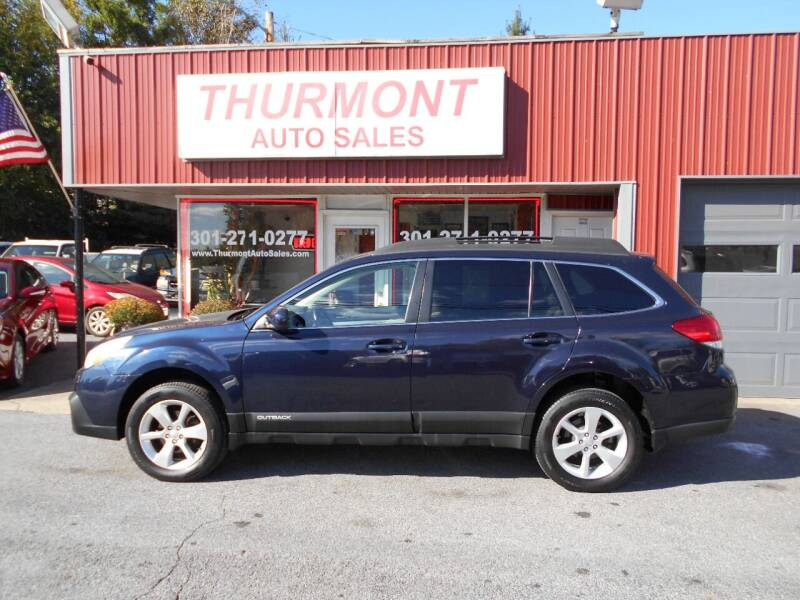2014 Subaru Outback for sale at THURMONT AUTO SALES in Thurmont MD