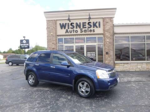 2008 Chevrolet Equinox for sale at Wisneski Auto Sales, Inc. in Green Bay WI