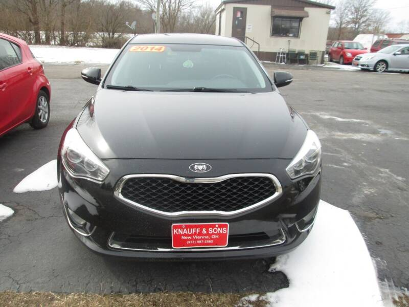 2014 Kia Cadenza for sale at Knauff & Sons Motor Sales in New Vienna OH