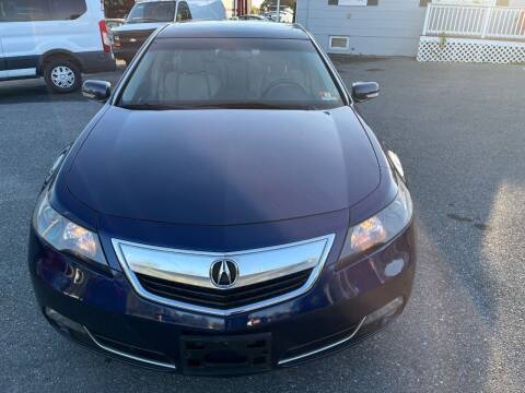 2013 Acura TL for sale at Fuentes Brothers Auto Sales in Jessup MD