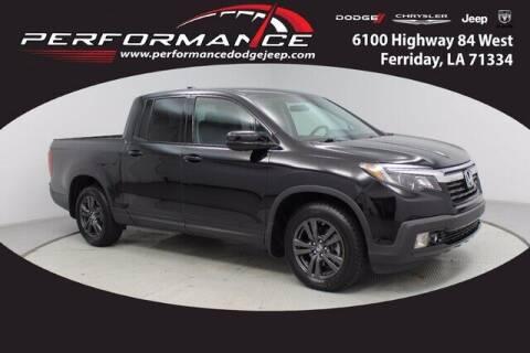 2019 Honda Ridgeline for sale at Performance Dodge Chrysler Jeep in Ferriday LA
