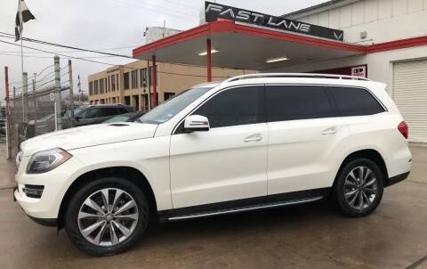 2014 Mercedes-Benz GL-Class for sale at FAST LANE AUTO SALES in San Antonio TX