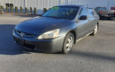 2005 Honda Accord for sale at Mathews Used Cars, Inc. in Crawford GA
