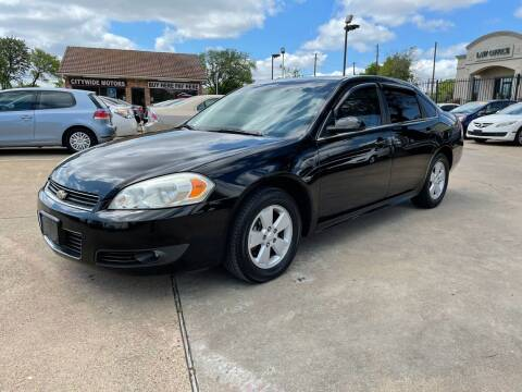 2010 Chevrolet Impala for sale at CityWide Motors in Garland TX