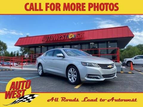 2018 Chevrolet Impala for sale at Autowest of Plainwell in Plainwell MI