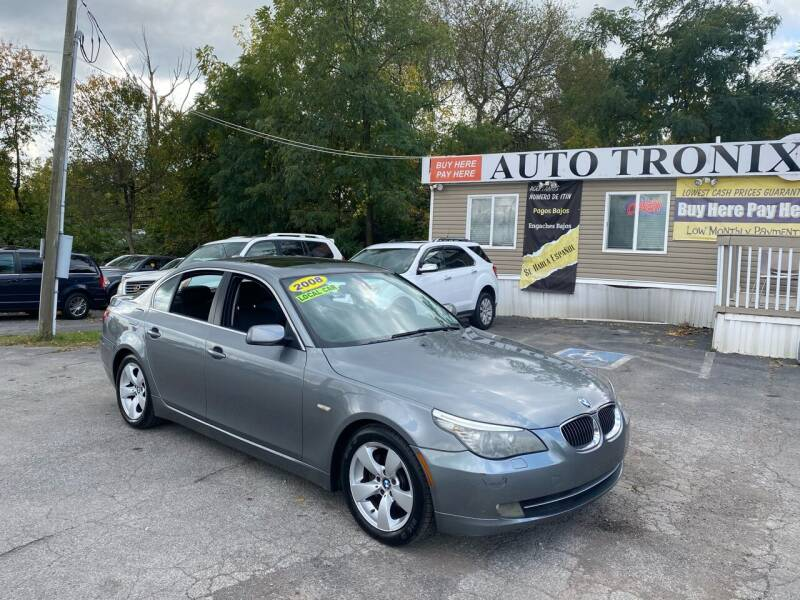 2008 BMW 5 Series for sale at Auto Tronix in Lexington KY