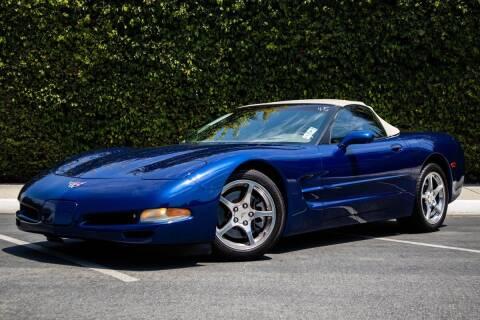 2004 Chevrolet Corvette for sale at 605 Auto  Inc. in Bellflower CA