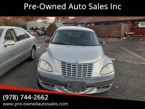 2001 Chrysler PT Cruiser for sale at Pre-Owned Auto Sales Inc in Salem MA