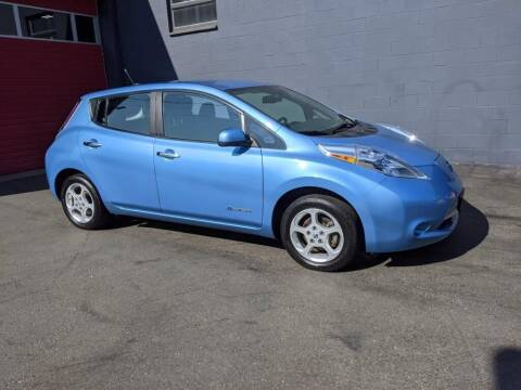 2013 Nissan LEAF for sale at Paramount Motors NW in Seattle WA
