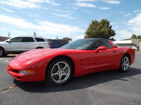 2004 Chevrolet Corvette for sale at Cars R Us in Chanute KS